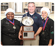 MONTGOMERY CO. CAPTURES JUNIOR CHEF