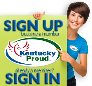 Kentucky Proud Sign Up