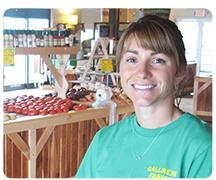 Malia Hurst of Gallrein Farms
